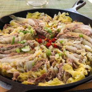 Mille Feuille Nabe – Nappa & Pork