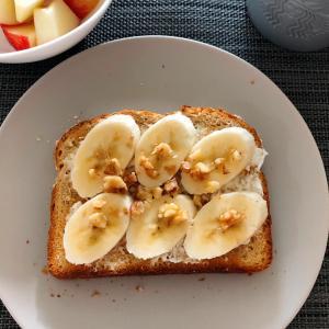 Toast Recipes – Banana & Walnuts and More!