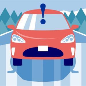 車で路面凍結のお知らせもしてくれます