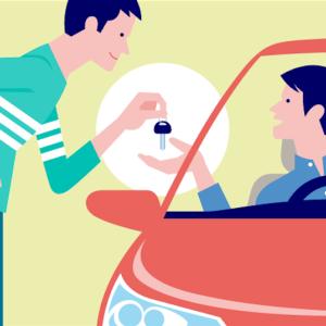 レンタカーや人に車を借りる時、確認しよう! 車両保険
