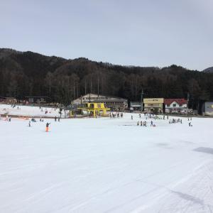 かたしな高原スキー場 滑走20日目