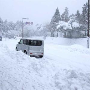 雪道は交通事故が多発!年末年始お気をつけて☆子連れで通える滋賀近江八幡あんど整体院