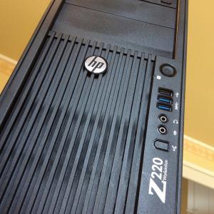 (記事作成中)【中古PC】自宅専用サーバー、HP Z220 Workstation立ち上げ記録
