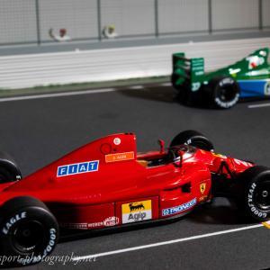1/43フェラーリ642ミニカーコレクションvol.26 実車のように撮影し現役当時を振り返る