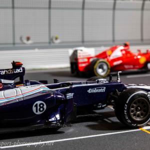 ウィリアムズFW34【ミニカーで振り返るレーシングマシン】vol.48 名門8年ぶりの優勝マシン