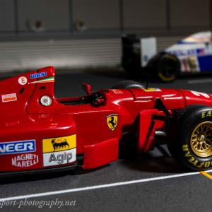フェラーリ412T1【ミニカーで振り返るレーシングマシン】vol.55 フェラーリ4年ぶりの優勝マシン