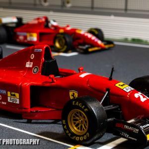 フェラーリ412T2【ミニカーで振り返るレーシングマシン】vol.57 フェラーリ最後のV12搭載の412T2はアレジ唯一の優勝マシン