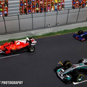 フェラーリSF70H【ミニカーで振り返るレーシングマシン60】フェラーリのモータースポーツ参戦70周年マシン