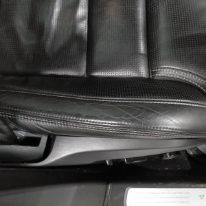 自動車内装修理#304 ボルボ/V90 T6 レザー革シート 劣化・擦れ・シワ・ひっかき傷補修