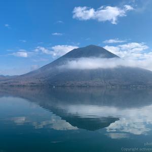 中禅寺湖でのトラウトルアーフィッシング。国土地理院の湖沼図データでポイント湖底の地形を探る