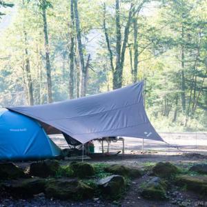 菅沼キャンプ村でテント泊 はじめて行く人のためにオリジナルマップで詳細解説