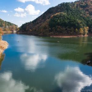 東古屋湖でトラウトルアーフィッシング おかっぱりフィールドをオリジナルマップで紹介