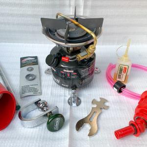 コールマンユーザー必携!ガソリン燃焼機器メンテナンス道具・アクセサリー8点セット