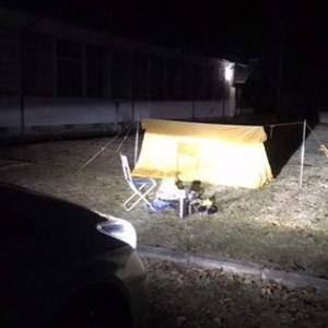 初冬の実験!人吉でソロキャンプ