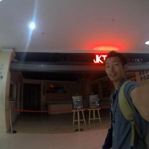 ジャカルタ市内からバスに乗って空港へ