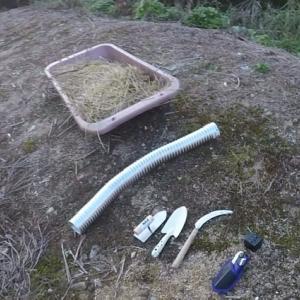 材料は土!かまどを作ろう その1