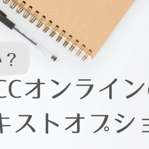 【実体験】ECCオンラインのテキストオプションは高い?実際にレッスンを受ける私が徹底解説