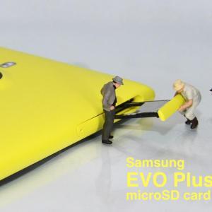 Samsung EVO Plus 128GB microSDカード 購入 レビュー