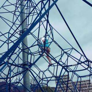 広島【子供と楽しむ公園】 峰高公園で遊びました