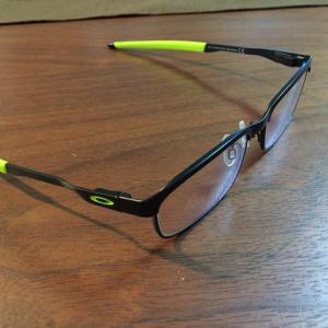 息子の眼鏡が出来上がりました❗️7歳初眼鏡