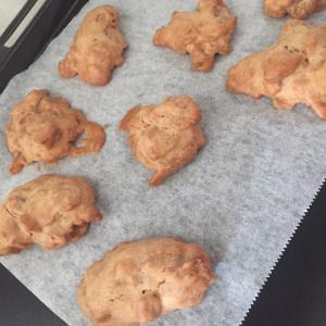 今日のおやつは【コーンフレーククッキー】