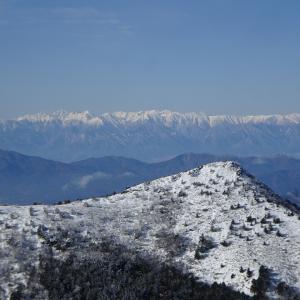 新年2発目は眺望抜群 地元の湯ノ丸山②ファイナル