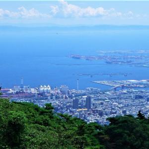 大阪出張2日目~2座目は六甲山