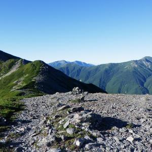 登りには使いたくない大門沢ルートから百高山狙い~白峰南稜歩き①