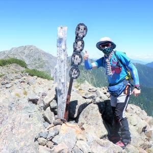 登りには使いたくない大門沢ルートから百高山狙い~白峰南稜歩きファイナル④