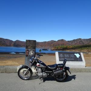 バイクで行く好きな場所:本栖湖