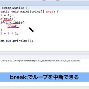 010-Javaの基本-while【新人エンジニアが最初に覚えたい100のJava文法】