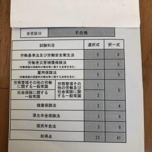 社労士試験勉強 3年目 その②