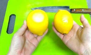 とてもかんたん レモン酢作り