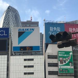 いまの新宿駅東口の気温は?