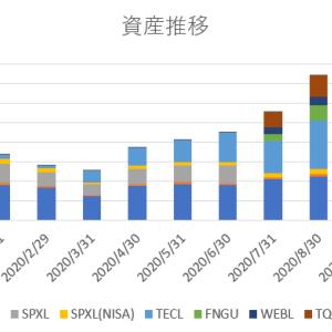 【2020年10月末】月末資産報告【6723万→6765万】