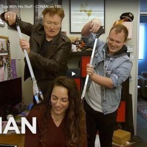Conan O'Brien で Coronavirus を笑い飛ばす☆