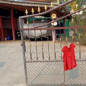 タイの田舎のおまじない?