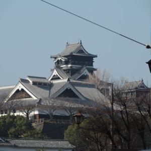 熊本地震前の熊本の街並み