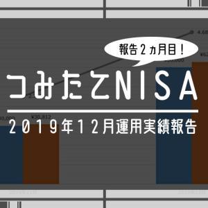 【2019年12月】つみたてNISA(積立NISA)の運用実績(利回り)を公開!【楽天証券】