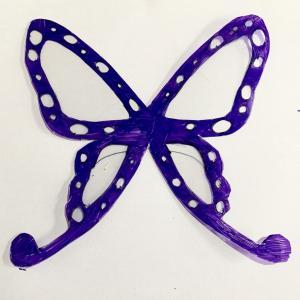 簡単!?胡蝶しのぶちゃんの蝶々髪飾りを工作する。