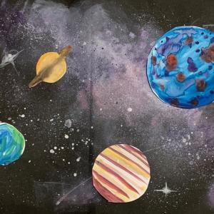 簡単!星雲広がる宇宙を描く!最高にギャラクシー!