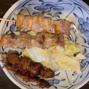 客一人の外飲み😅 豚🐷が出て来ても博多では焼き鳥屋さん‼️