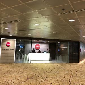 SFC旅行#5-13 チャンギ空港 SATS PREMIER LOUNGE