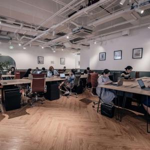 高級エリアロックウェルのオフィススペース