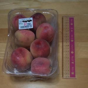 スモモ大の桃