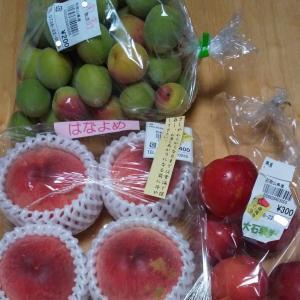 桃とスモモと梅