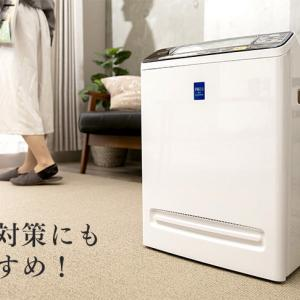 アイリスオーヤマの空気清浄機PMMS-AC100は、フィルターお手入れもかんたん。