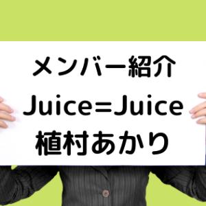 [5分で分かるメンバー紹介]Juice=Juiceの大型犬 植村あかり[ハロプロが誇る天然美人]