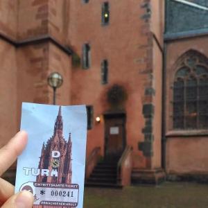 ドイツXmas4-2フランクフルト②大聖堂の塔