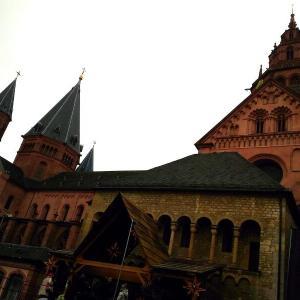 ドイツXmas4-5マインツ②大聖堂